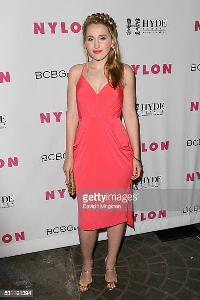 Harley Quinn Smith arrives at NYLON and BCBGeneration's Annual Young Hollywood May Issue Event at HYDE Sunset Kitchen Cocktails on May 12 2016 in...
