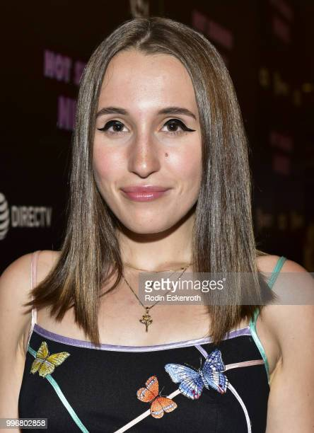 Harley Quinn Smith arrives at the screening of A24's 'Hot Summer Nights' at Pacific Theatres at The Grove on July 11 2018 in Los Angeles California
