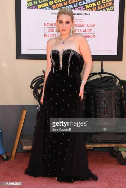 Harley Quinn Smith attends Sony Pictures' Once Upon A TimeIn Hollywood Los Angeles Premiere on July 22 2019 in Hollywood California