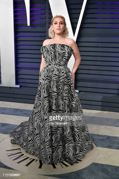 Harley Quinn Smith attends the 2019 Vanity Fair Oscar Party hosted by Radhika Jones at Wallis Annenberg Center for the Performing Arts on February 24...