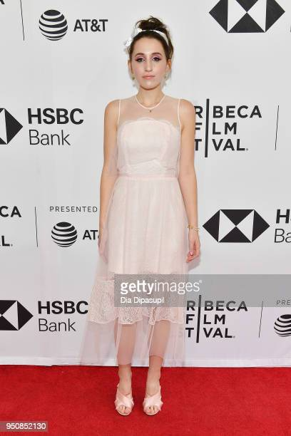 Harley Quinn Smith attends the screening of All These Small Moments during the 2018 Tribeca Film Festival at SVA Theatre on April 24 2018 in New York...