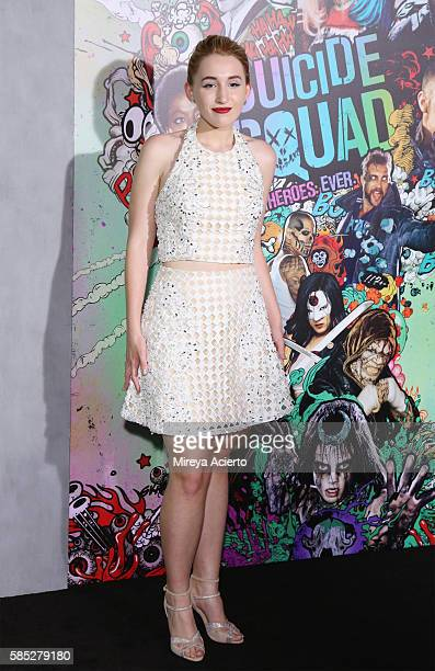 """Harley Quinn Smith attends the """"Suicide Squad"""" world premiere at The Beacon Theatre on August 1, 2016 in New York City."""