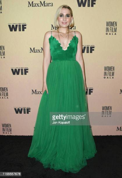 Harley Quinn Smith attends Women In Film Annual Gala 2019 Presented By Max Mara at The Beverly Hilton Hotel on June 12 2019 in Beverly Hills...