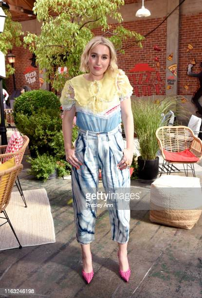 Harley Quinn Smith of 'Jay and Silent Bob Reboot' attends the Pizza Hut Lounge at 2019 ComicCon International San Diego on July 20 2019 in San Diego...