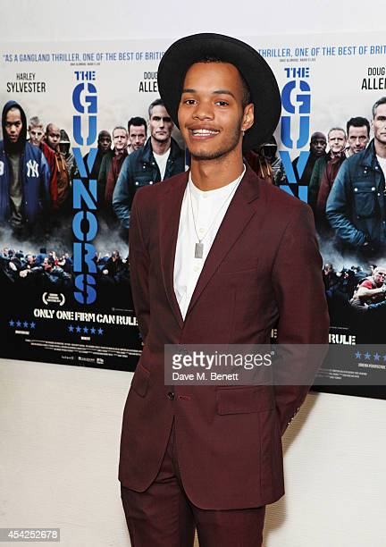 Harley Sylvester AlexanderSule attends the UK Premiere of The Guvnors at Odeon Covent Garden on August 27 2014 in London England