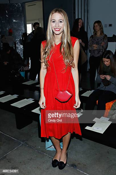 Harley Viera Newton attends the Giulietta fashion show during Mercedes-Benz Fashion Week Fall 2014 at Pier 59 on February 9, 2014 in New York City.