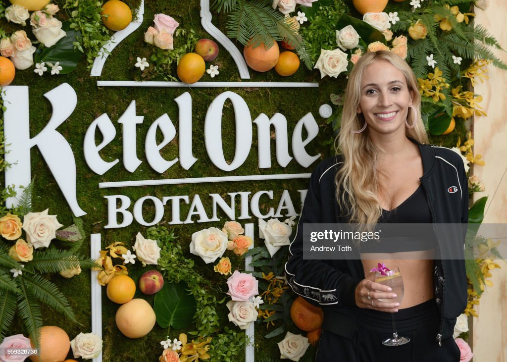 DJ Harley Viera Newton celebrating the Launch of Ketel One Botanical on May 16, 2018 in New York City.