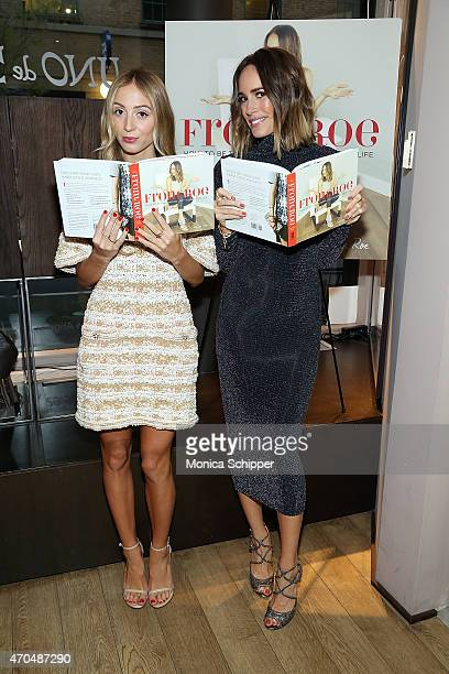 Harley Viera-Newton and author Louise Roe attend The Launch Of Louise Roe's Book Front Roe: How To Be the Leading Lady In Your Own Life Hosted By...