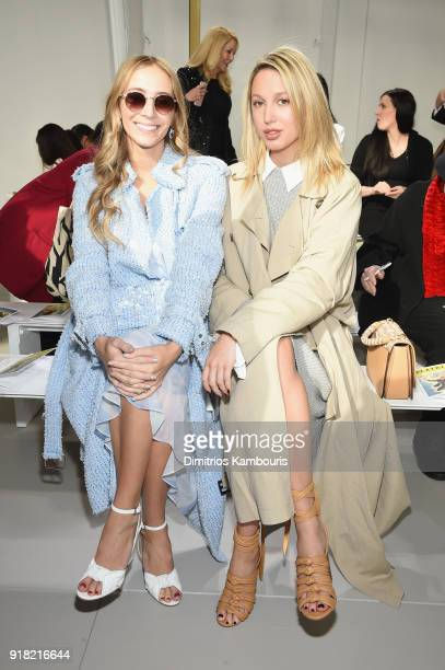 Harley VieraNewton and Princess MariaOlympia of Greece and Denmark attend the Michael Kors Collection Fall 2018 Runway Show at Vivian Beaumont...