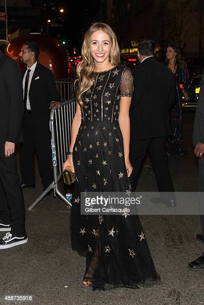 Harley Viera-Newton attends 2015 Harper's BAZAAR ICONS Event at The Plaza Hotel on September 16, 2015 in New York City.