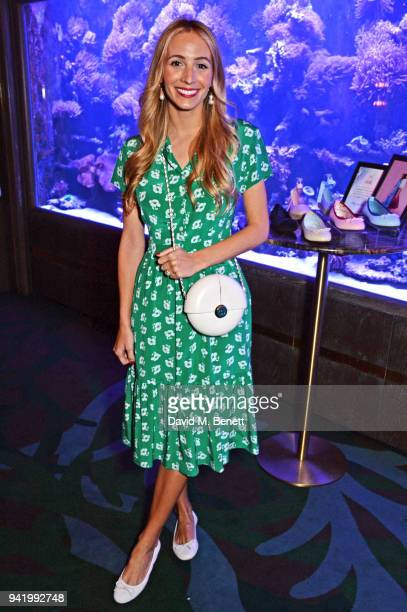Harley Viera-Newton attends an exclusive dinner to celebrate her SS18 collaboration with British footwear brand Butterfly Twists at Sexy Fish on...