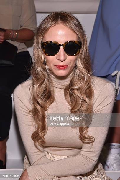 Harley VieraNewton attends Ralph Lauren Spring 2016 during New York Fashion Week The Shows at Skylight Clarkson Sq on September 17 2015 in New York...