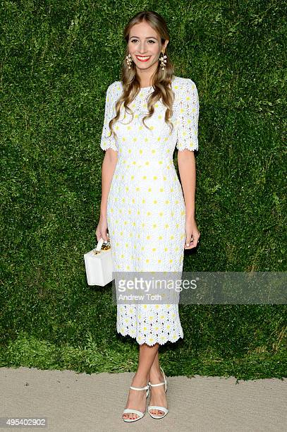 Harley Viera-Newton attends the 12th annual CFDA/Vogue Fashion Fund Awards at Spring Studios on November 2, 2015 in New York City.