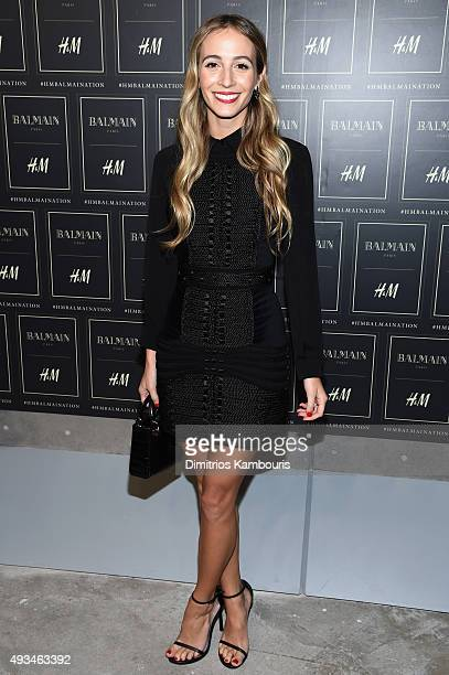 Harley Viera-Newton attends the BALMAIN X H&M Collection Launch at 23 Wall Street on October 20, 2015 in New York City.