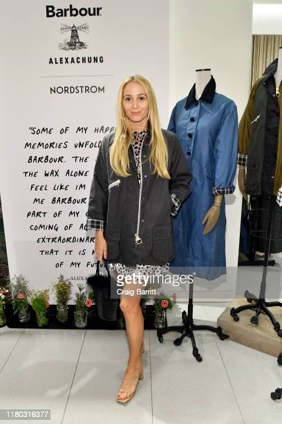 Harley VieraNewton attends the Barbour By ALEXACHUNG Fall 2019 Collection Celebration at Nordstrom on October 10 2019 in New York City