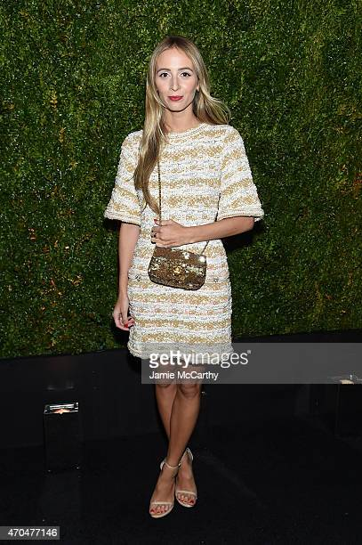 Harley Viera-Newton attends the Chanel Dinner during the 2015 Tribeca Film Festival at Balthazar on April 20, 2015 in New York City.
