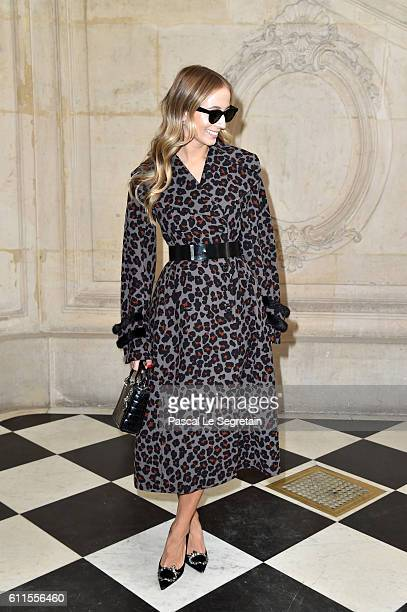 Harley VieraNewton attends the Christian Dior show of the Paris Fashion Week Womenswear Spring/Summer 2017 on September 30 2016 in Paris France