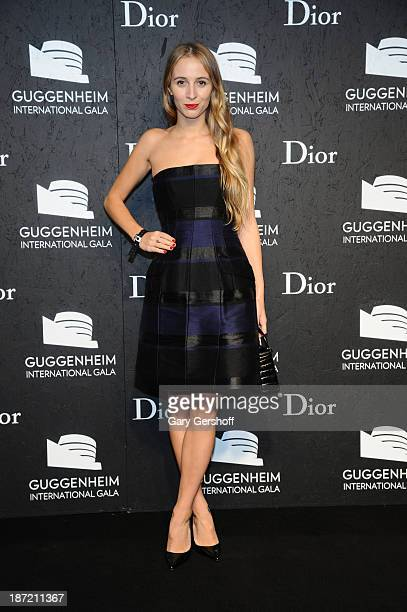 Harley VieraNewton attends the Guggenheim International Gala made possible by Dior Preparty hosted by The Young Collector's Council at the Guggenheim...