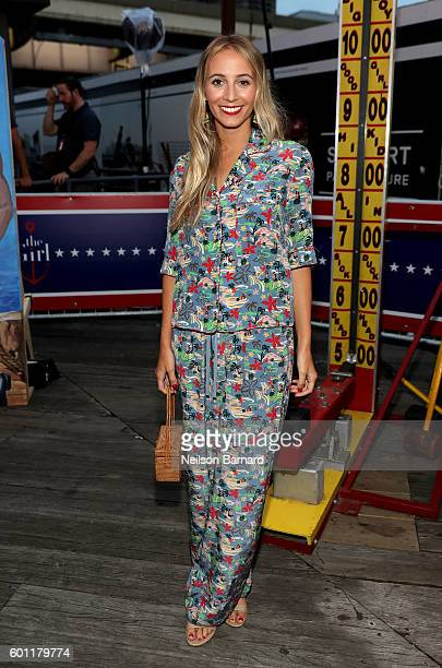 Harley VieraNewton attends the #TOMMYNOW Women's Fashion Show during New York Fashion Week at Pier 16 on September 9 2016 in New York City