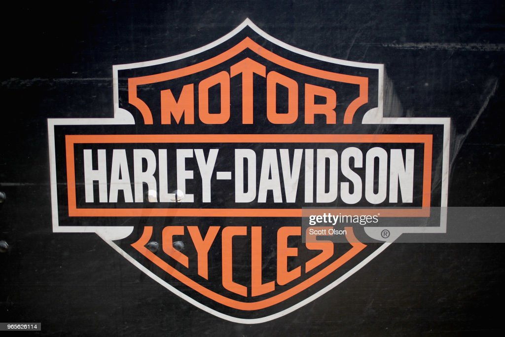 graphic about Printable Harley Davidson Logo called Harley Davidson Quality Illustrations or photos, Shots, Pics - Getty