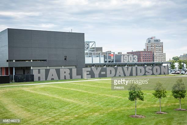 harley-davidson museum und milwaukee - theasis stock-fotos und bilder