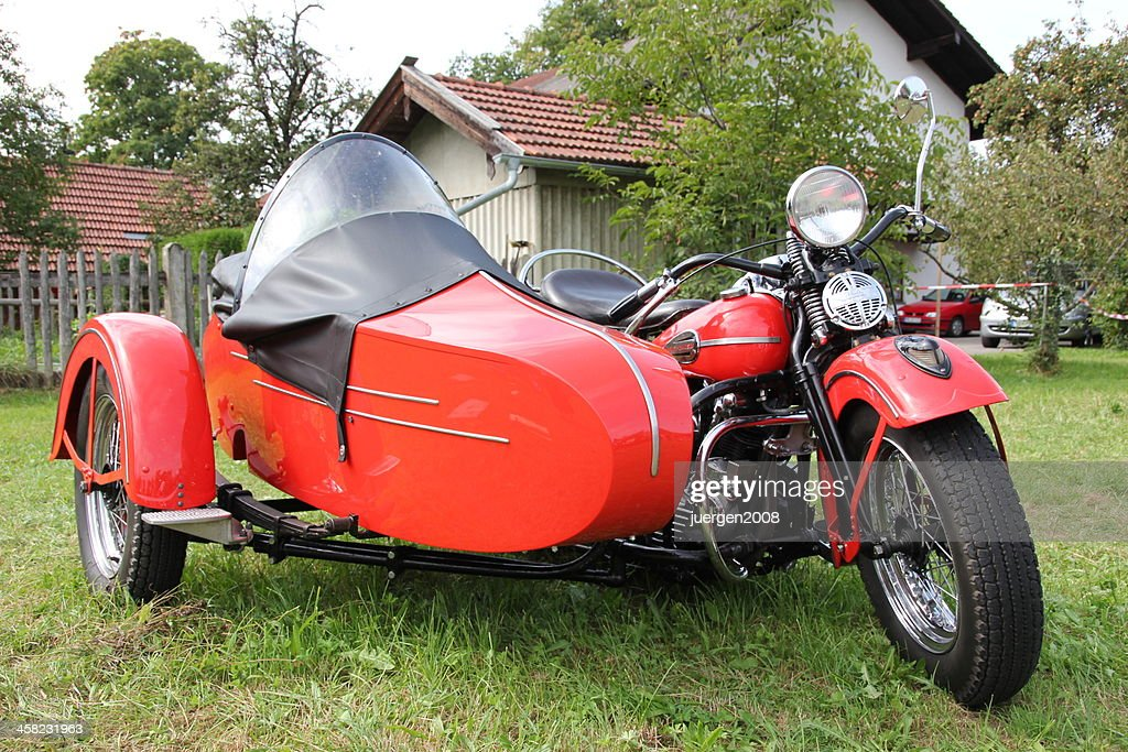 Harleydavidson With Sidecar Stock Photo - Getty Images