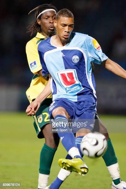 Harlington SHERENI / Guillaume HOARAU Le Havre / Nantes 4eme journee de Ligue 2