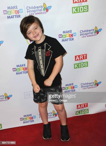 Harlo Haas attends Art For Kids And The Cast Of USA Networks' 'The Secret Lives Of Kids' Create Art To Benefit Children's Hospital Of Los Angeles...