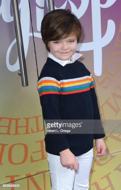 Harlo Haas participates in Talent Day At Candytopia held at Santa Monica Place on March 18 2018 in Santa Monica California