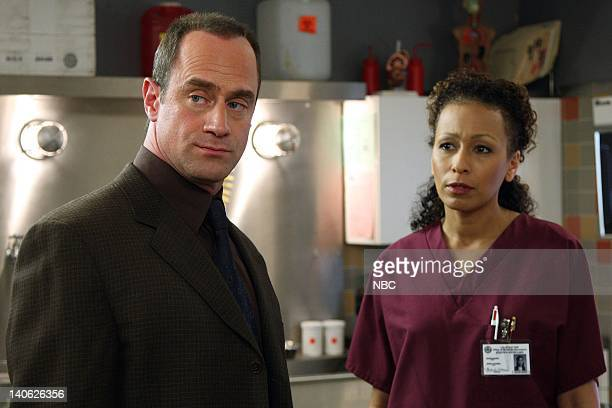 """Harm"""" Episode 905 -- Pictured: Christopher Meloni as Detective Elliot Stabler, Tamara Tunie as Medical Examiner Warner -- Photo by: Eric..."""