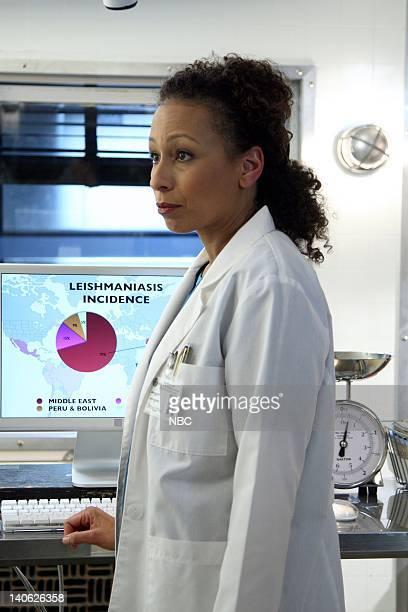 UNIT Harm Episode 905 Pictured Tamara Tunie as Medical Examiner Warner Photo by Eric Liebowitz/NBC/NBCU Photo Bank