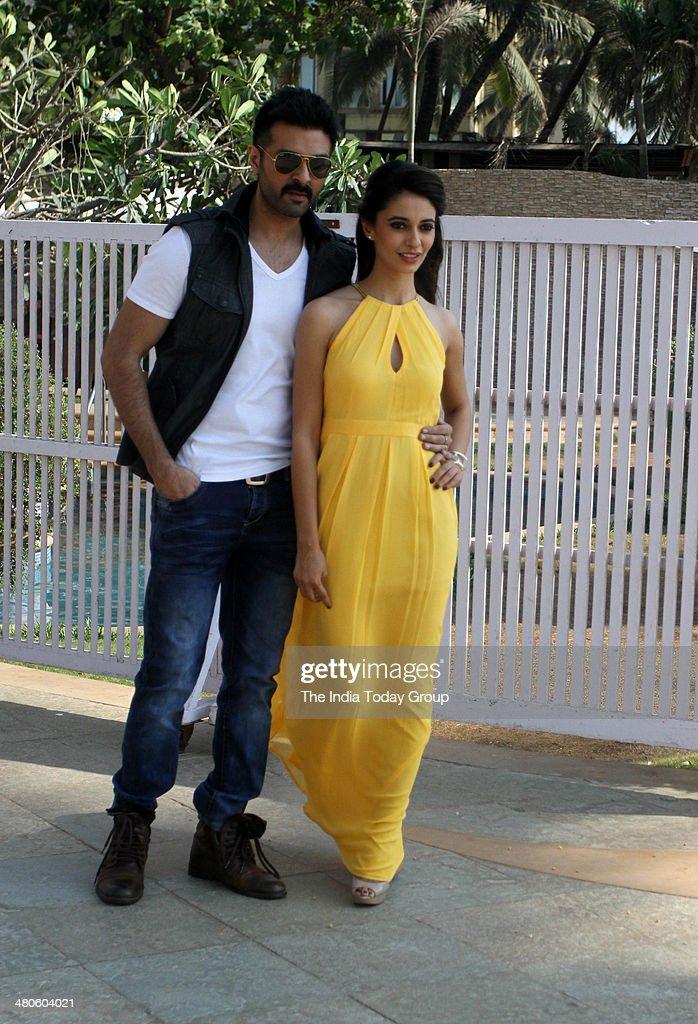 Harman Baweja and Ayesha Kapoor during the press conference held for the movie Dishkiyaaoon in Mumbai.