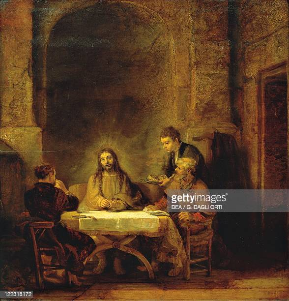 Harmenszoon van Rijn Rembrandt Supper at Emmaus