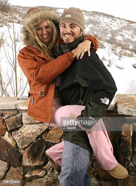 Harmoni Everett and husband Kerr Smith in The North Face *Exclusive*