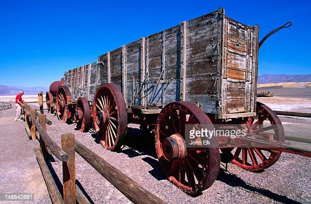 Harmony Borax Works 20 mule team borax wagon.