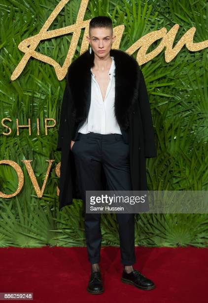 Harmony Boucher attends The Fashion Awards 2017 in partnership with Swarovski at Royal Albert Hall on December 4 2017 in London England