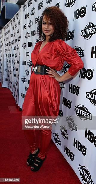 Harmony Santana at The 29th Annual Gay Lesbian Film Festival Opening Night Gala screening of 'Gun Hill Road' held at The Orpheum Theatre on July 7...