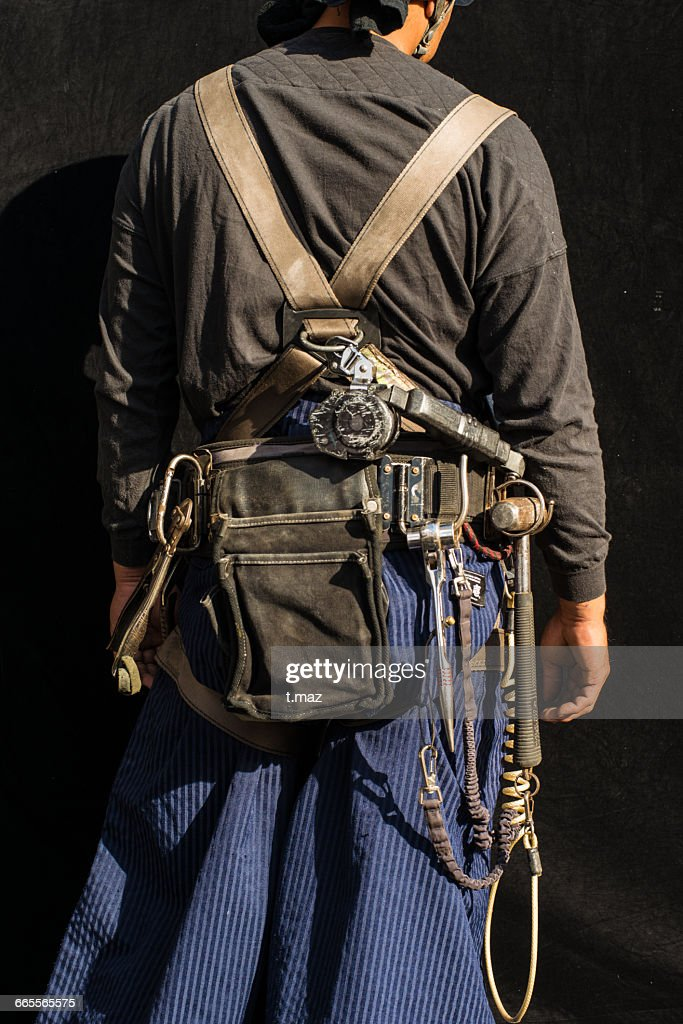 harness and toolbelt of construction craftsman picture id665565575 harness and toolbelt of construction craftsman stock photo getty