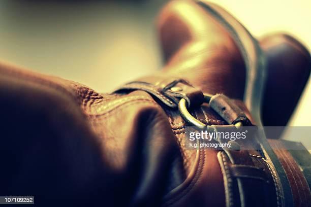 harness boots - バックル ストックフォトと画像