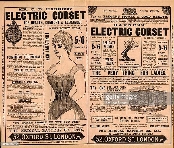 Harness Electropathic belt, 1890s.