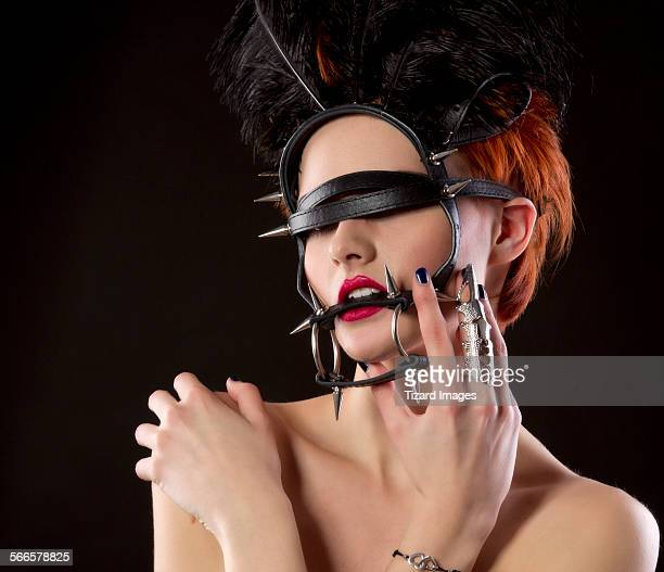 harness - fetish wear stock photos and pictures