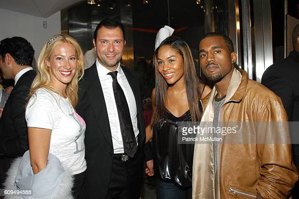 Haro Keledjian Alexis Phifer and Kanye West attend Intermix Los Angeles Store Debut at Intermix on September 25 2007 in Beverly Hills CA