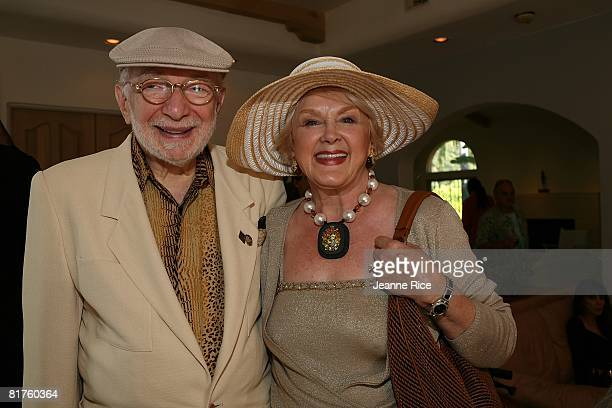 Harold and Jan Katz attend Trigg Ison Fine art exhibit for the work of Maxine Kim StussyFrankel at her home June 28 2008 in Los Angeles California