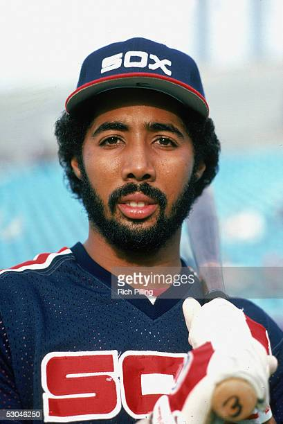 Harold Baines of the Chicago White Sox poses for a portrait