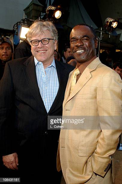 Harold Baldwin and Glynn Turman during 'Sahara' Los Angeles Premiere Red Carpet at Grauman's Chinese Theater in Los Angeles California United States