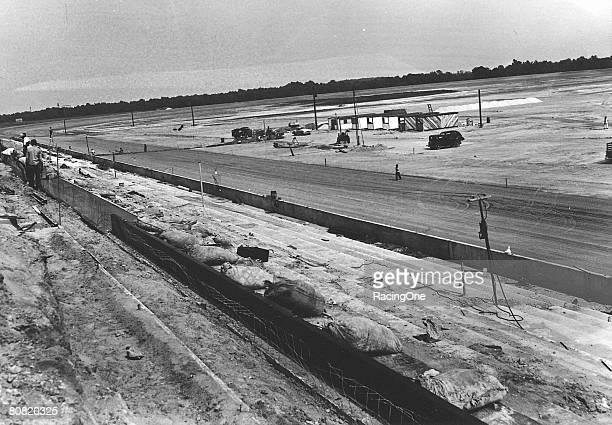 Harold Brasington oversaw the building of the 125mile paved Darlington Raceway in 1950 It became NASCAR's first asphalt superspeedway