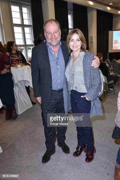 Harold Faltermeyer and Tina Ruland during the Book Launch 'Perlinchen ich bin anders na und' of Natascha Ochsenknecht on February 22 2018 in Berlin...
