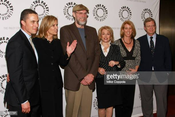 Harold Ford Jr., Kerry Kennedy, Director Donald Boggs, President and CEO of the Paley Center for Media Pat Mitchell, Rory Kennedy and Jeff Greenfield...