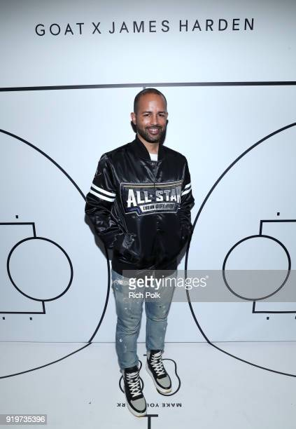 Harold Hadnott attends GOAT and James Harden Celebrate NBA AllStar Weekend 2018 at Poppy on February 17 2018 in Los Angeles California