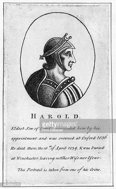 Harold Harefoot Harold I was King of England from 1035 to 1040 He was said to be the son of Canute the Great